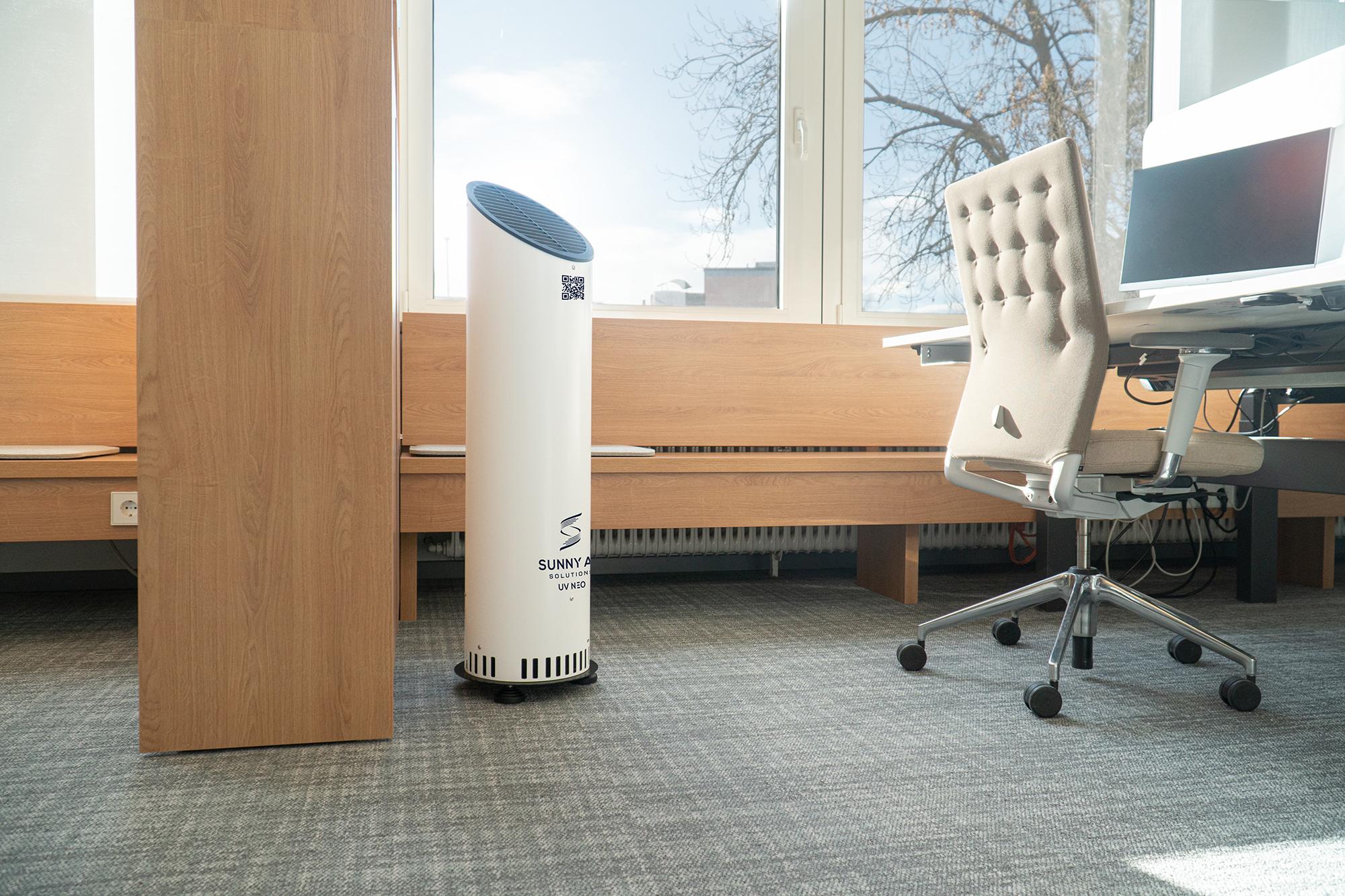 Luftreinigung für Büros: Sunny Air Solutions UV Neo