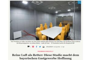 Reine Luft als Retter: Diese Studie macht dem bayerischen Gastgewerbe Hoffnung