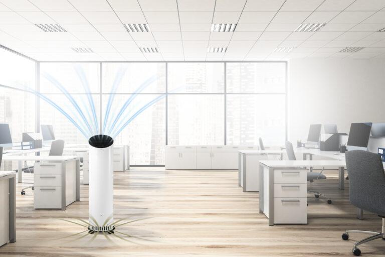 Zertifizierte Luftreiniger - Wirksamkeit über 99,95 % | Sunny Air Solutions