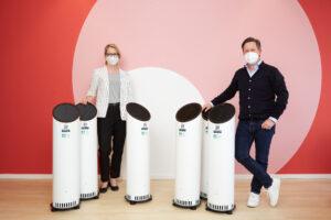 Sunny Air Solutions spendet Luftentkeimungsgeräte an KINDERSCHUTZ MÜNCHEN
